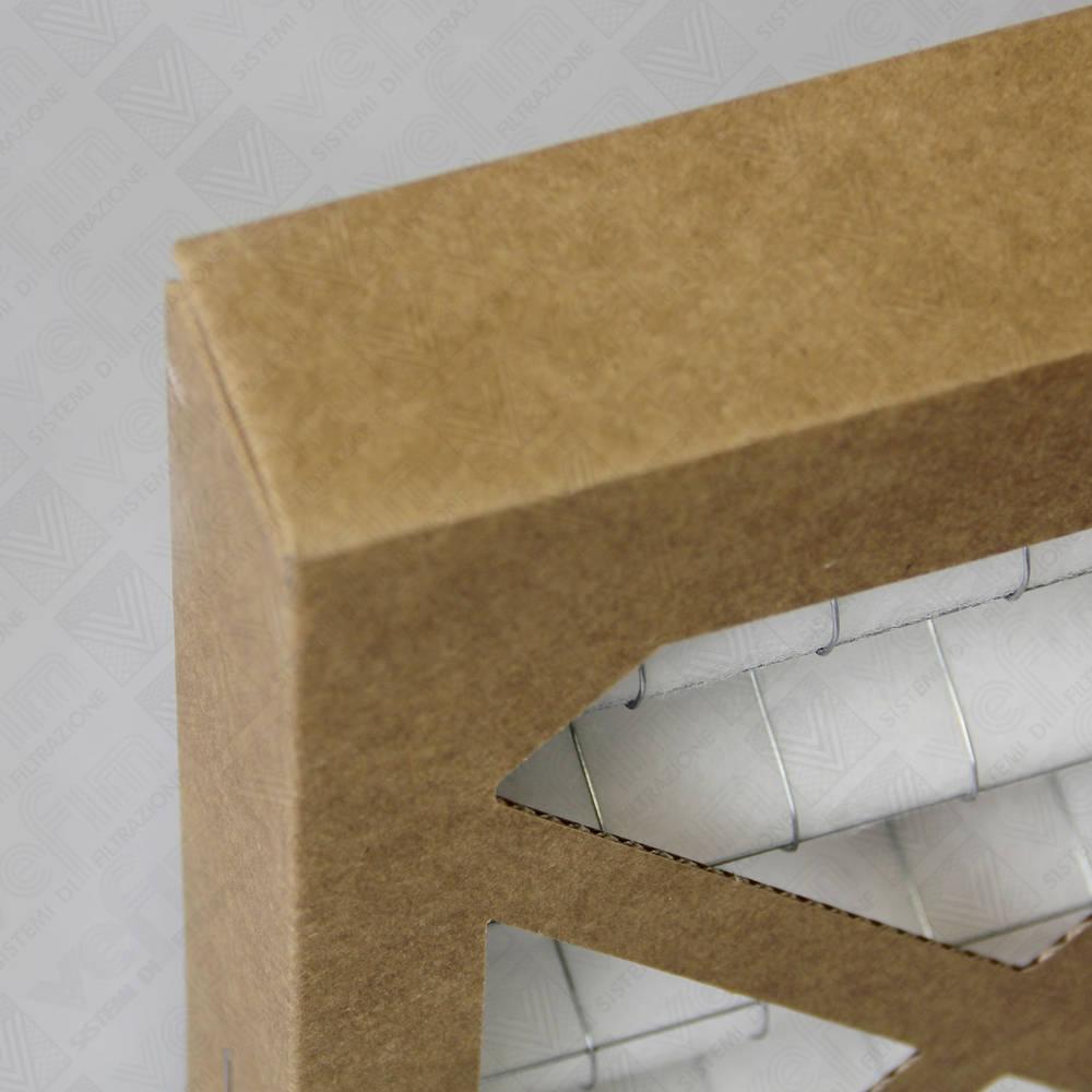 VEFIM - Gewellte zellen mit papp-rahmen und synthetischem ...