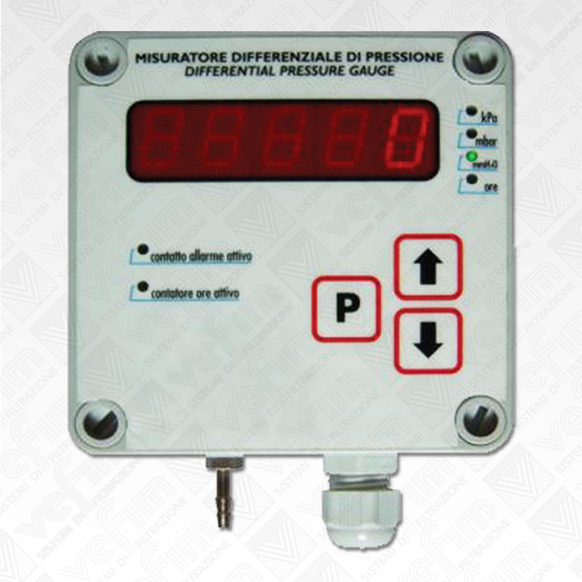 Vefim pressostati differenziali sistemi di filtrazione for Hd esterno non rilevato